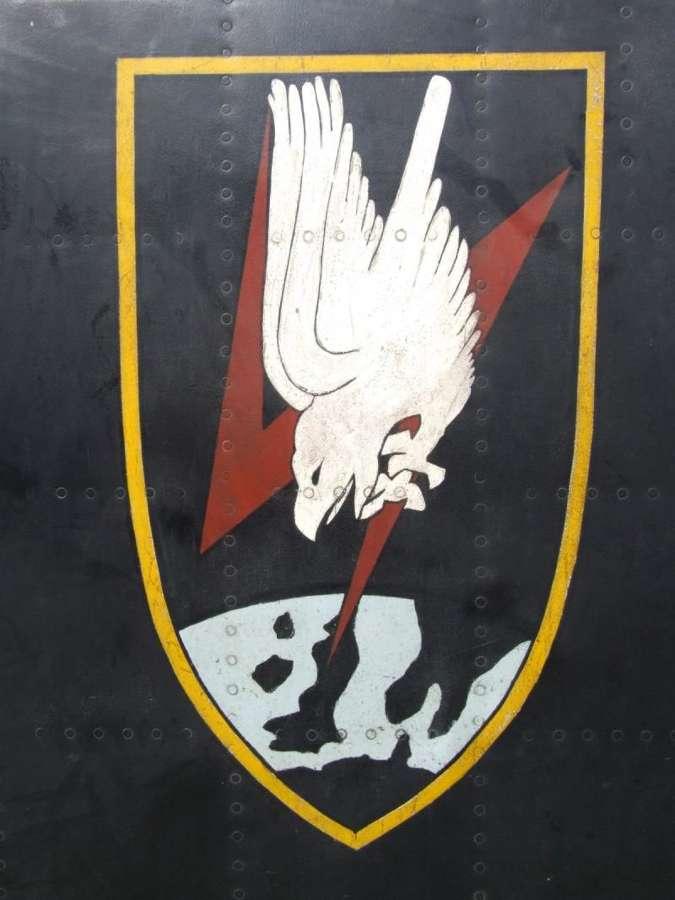 Luftwaffe Me110 Upper Wing Panel with Modern Artwork