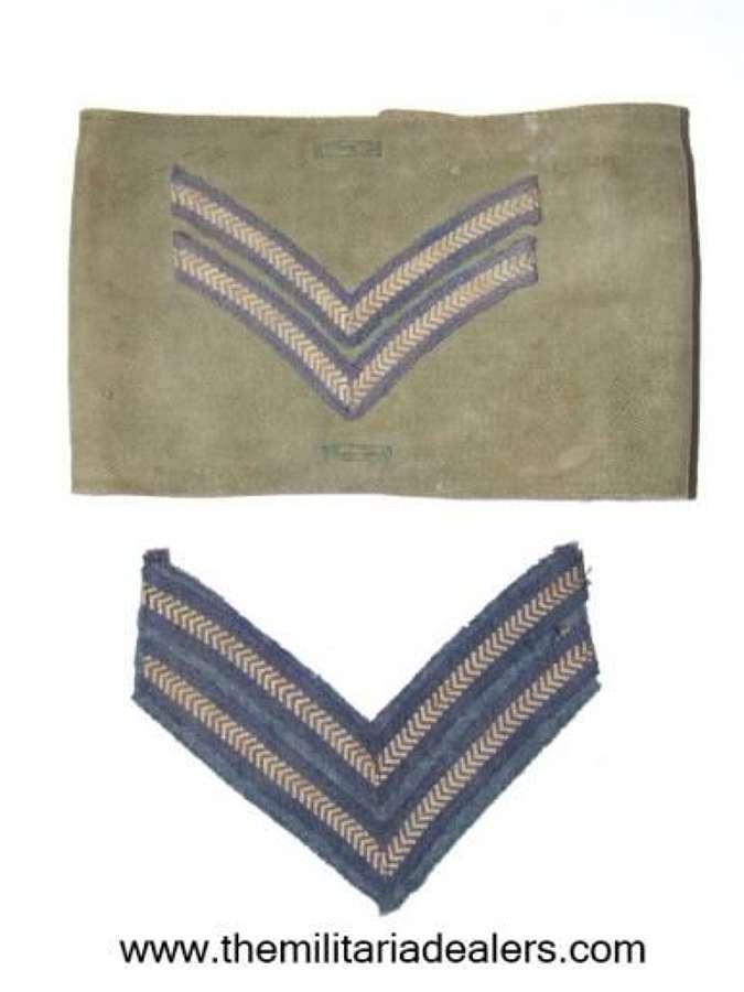 RAF Tropical Brassard and Chevrons