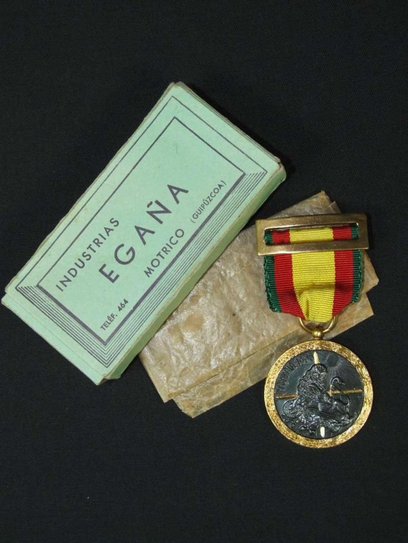 Spanish Civil War Combatant's Medal