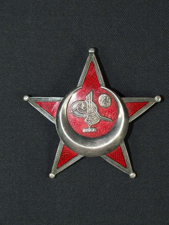 WW1 Turkist Gallipoli Star - German Manufactured