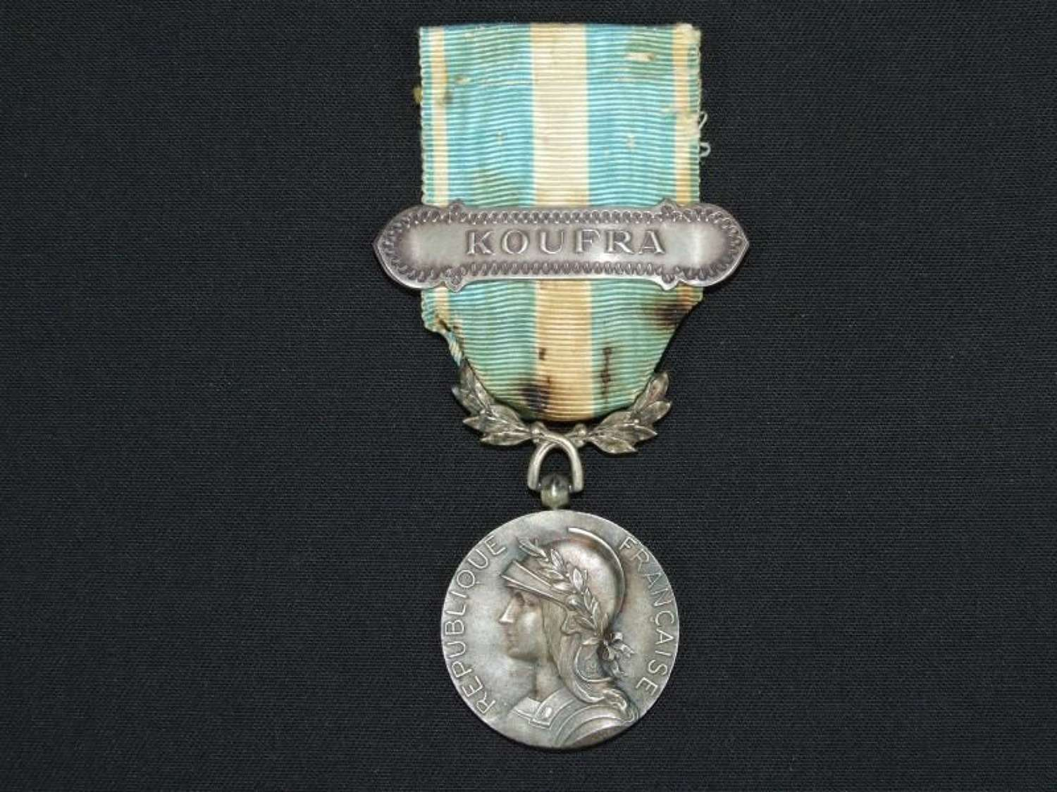 French Colonial Medal with Koufra Clasp. SAS / LDRG Interest