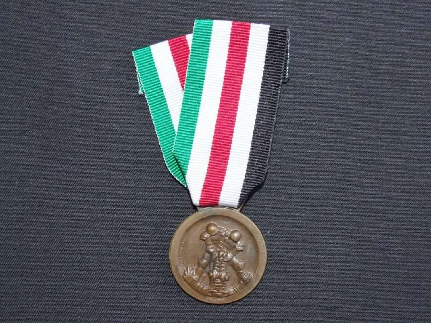 An Italian-German African Campaign Medal, by Lorioli