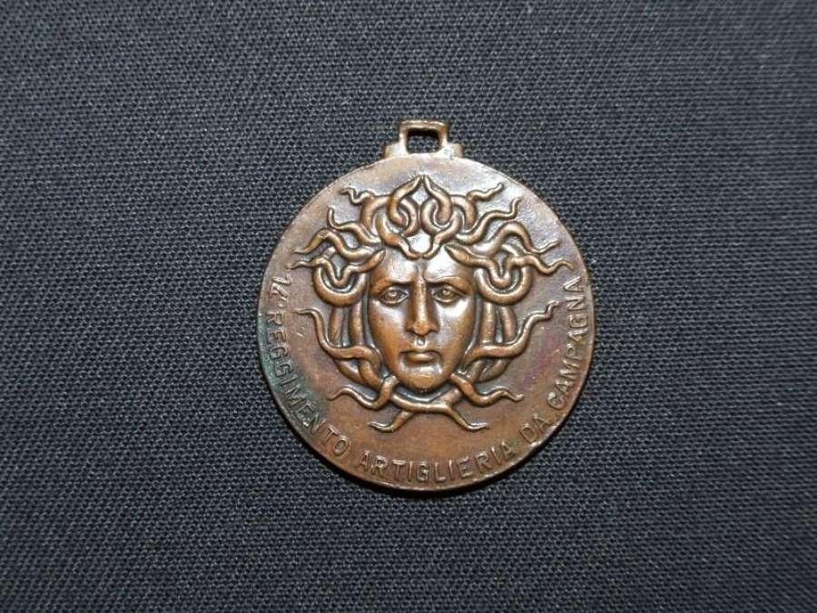 Kingdom of Italy 14 th. Regiment Artillery Medal