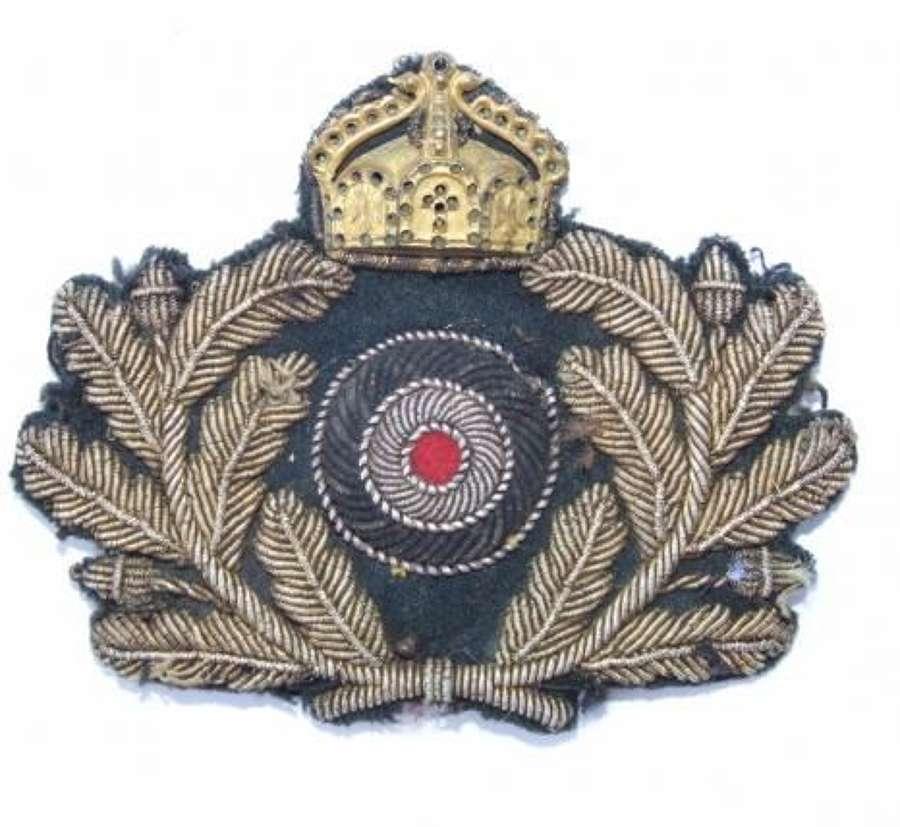 Imperial German Naval (Kaiserliche Marine) Officer's Cap Badge
