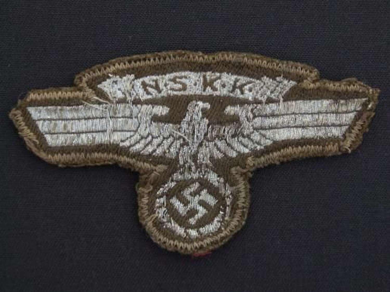 NSKK Sleeve Eagle