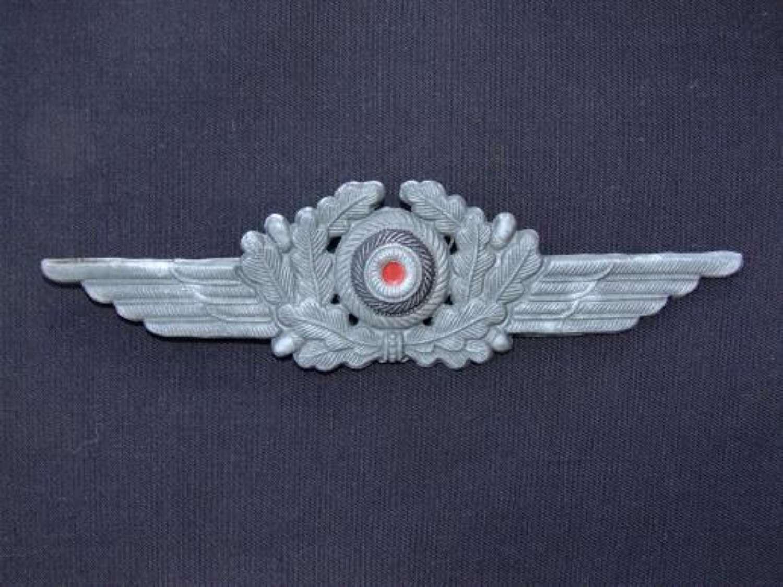 Luftwaffe Man's/ NCO Cap Insignia