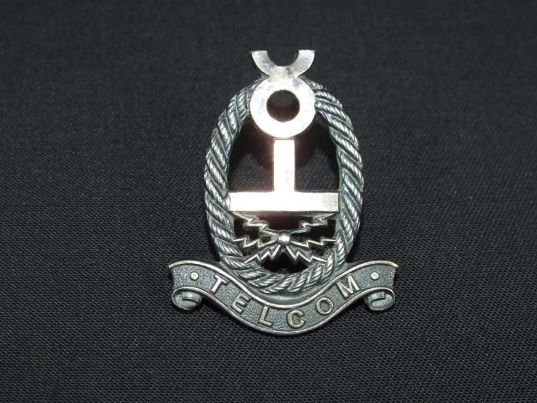 WW2 Telecoms Cap Badge
