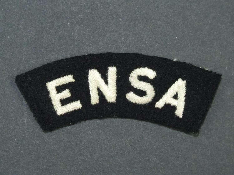 ENSA Shoulder Title