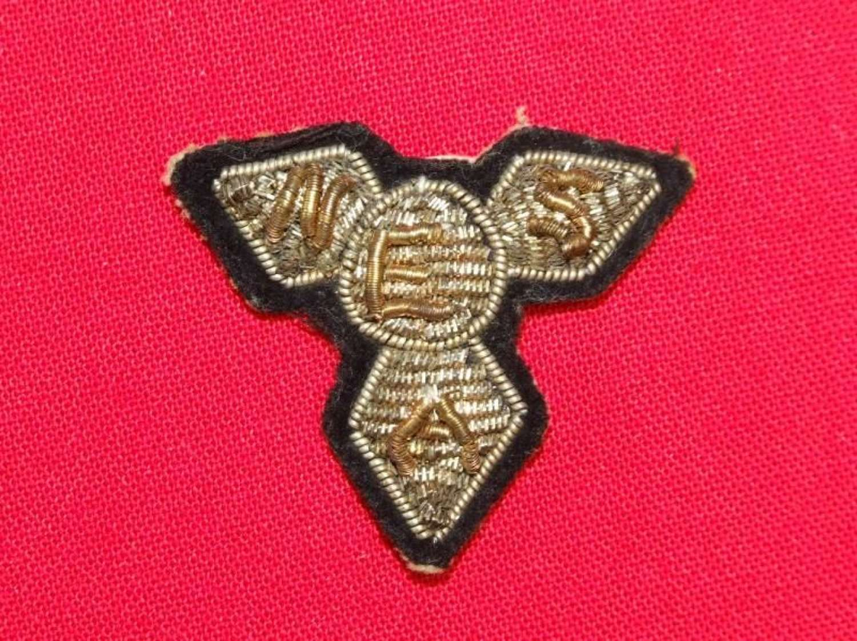 ENSA (Entertainments National Service Association) Cap or Beret Badge