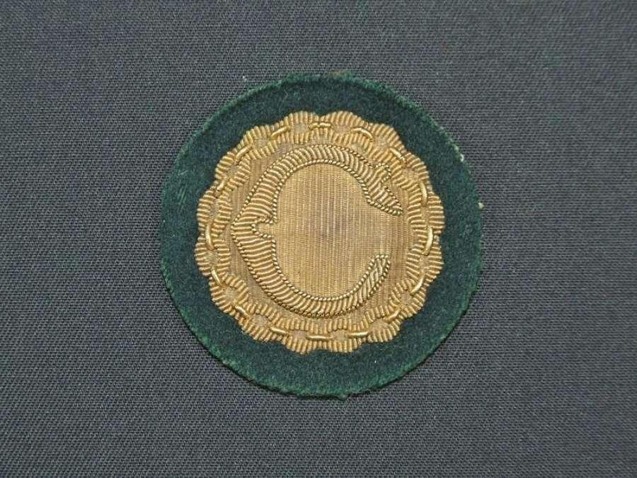 British War Correspondent Cap / Beret Badge