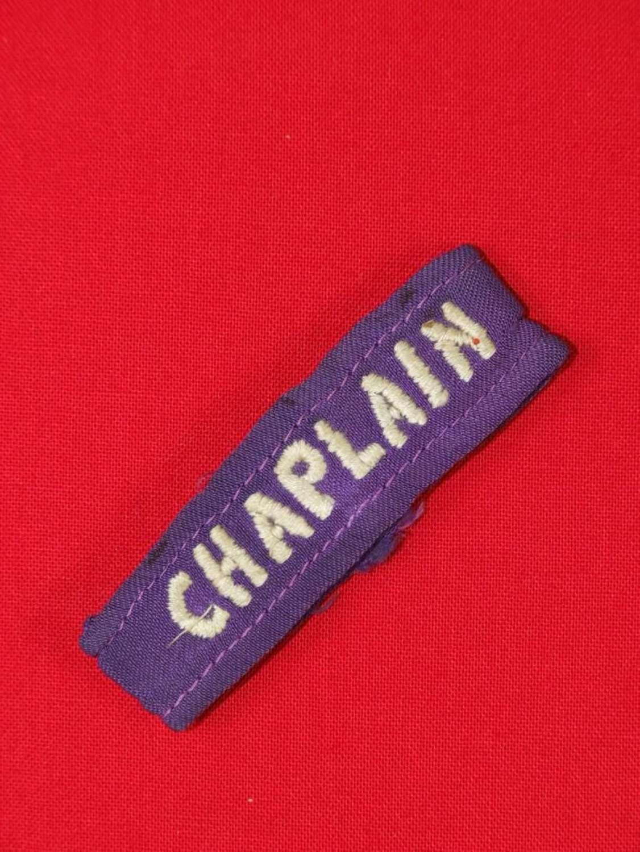 """Chaplain"" Shoulder Strap Slip"