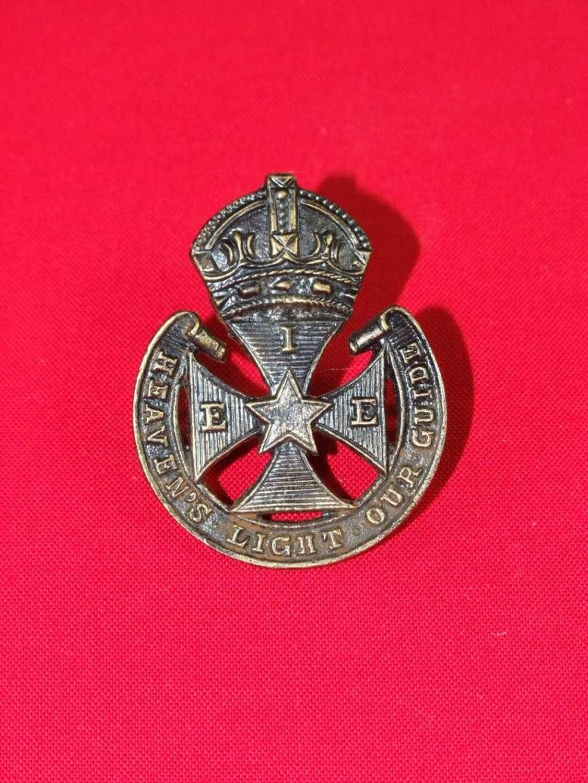 Indian Ecclesiastical Establishment Cap Badge