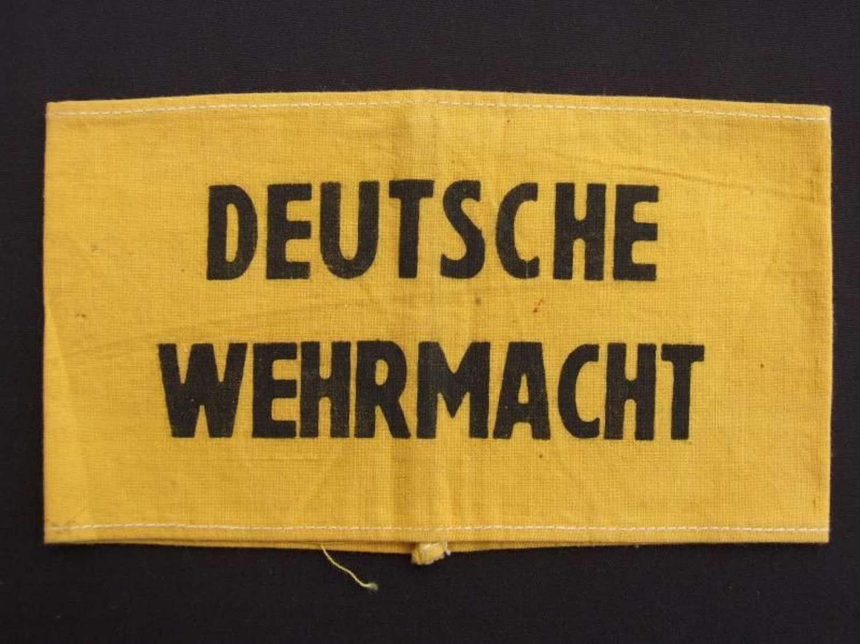Deutsche Wehrmacht Armband. Uncommon Variation