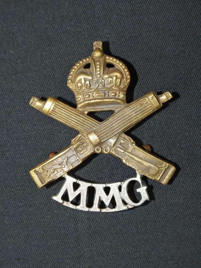 WW1 Motor Machine Gun Corps Cap Badge