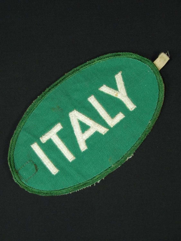 Italian POW Brassard