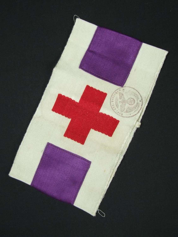 Wehrmacht Clergy Armband