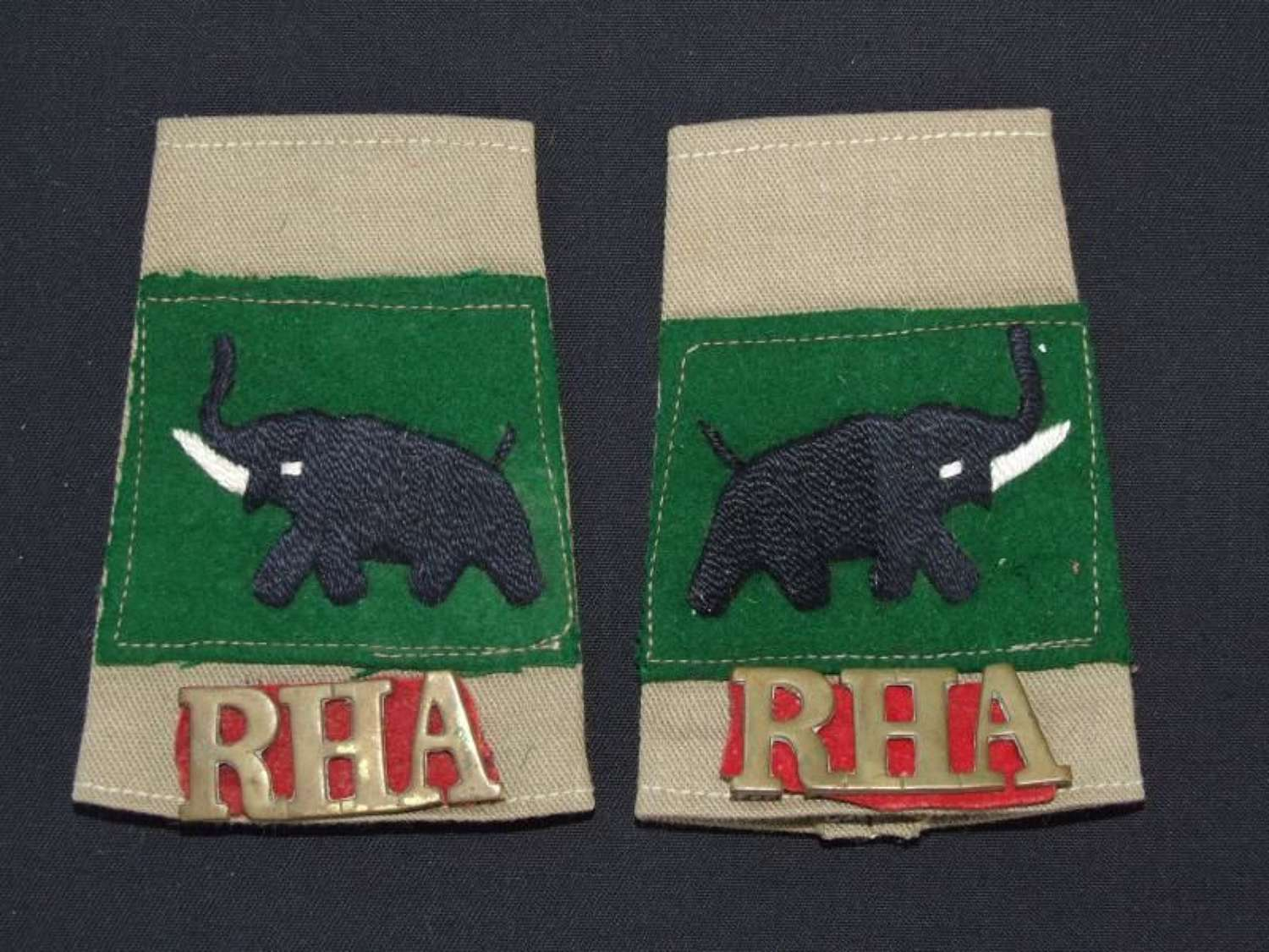 Shoulder Slips to the 31st Indian Armoured Division, 14th Battery Roya