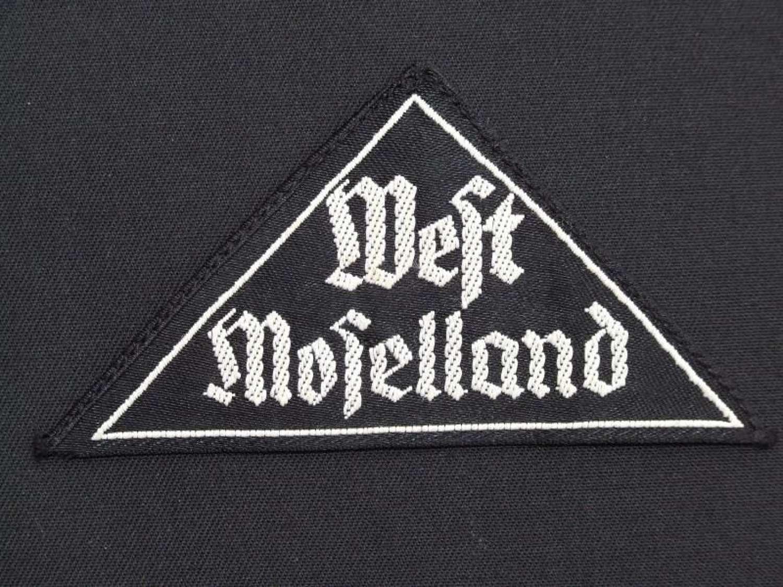 BDM Sleeve Gebiet Triangle - West Moselland