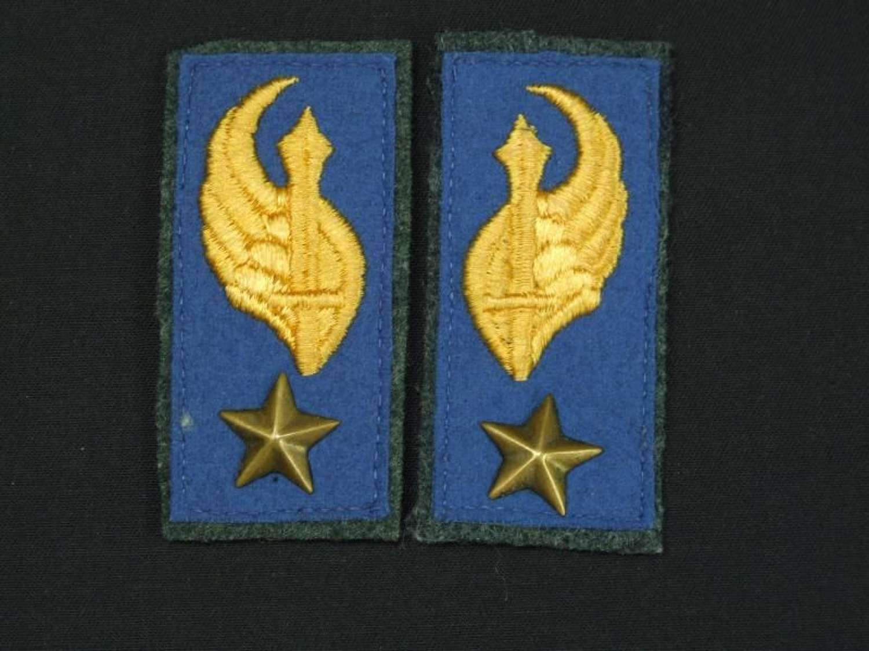 WW11 Royal Italian Army Parachutist Collar Tabs