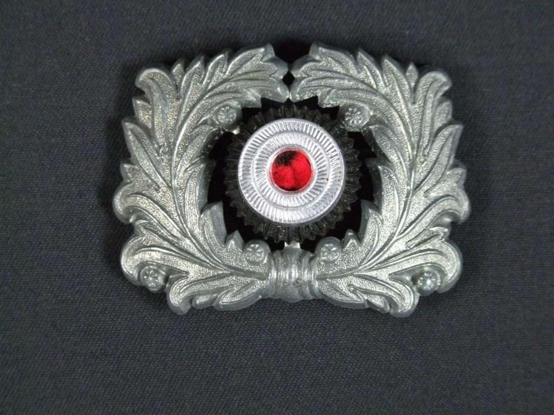 German Customs Cap Insignia Wreath