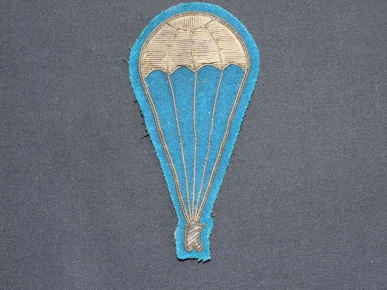 WW11 Italian Arab Paratroopers Badge.
