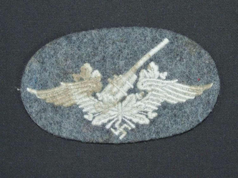 Luftwaffe Flak Specialty Badge