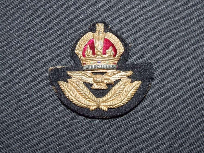 RAF Officer's Beret Badge