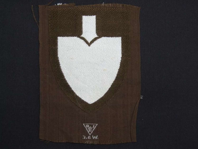 RAD Arm Shield. 1943 Pattern