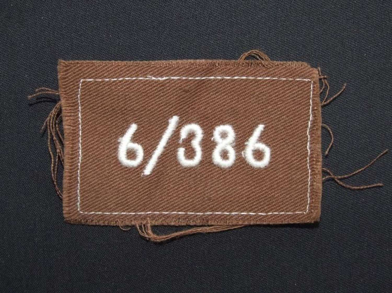 RAD Rectangulars Unit Insignia of 1943 Pattern