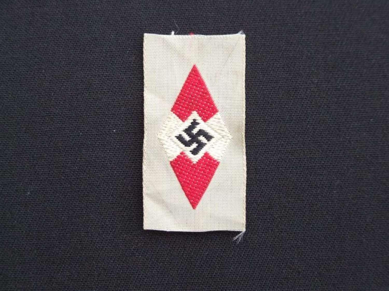 Hitler Youth Cap Insignia