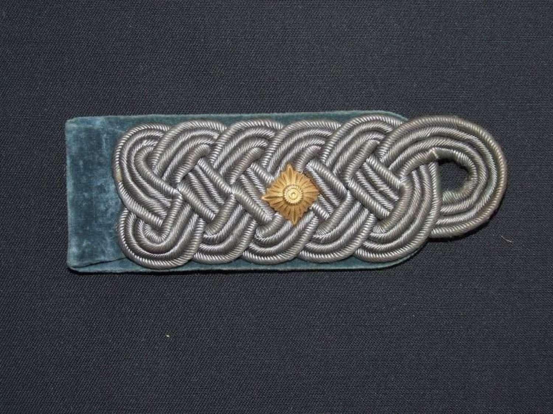 Single Oberstleutnants Shoulder Board
