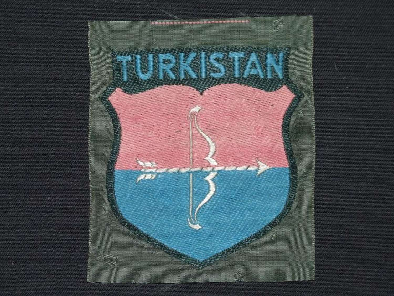 2nd Pattern Turkistan Volunteers Arm Shield