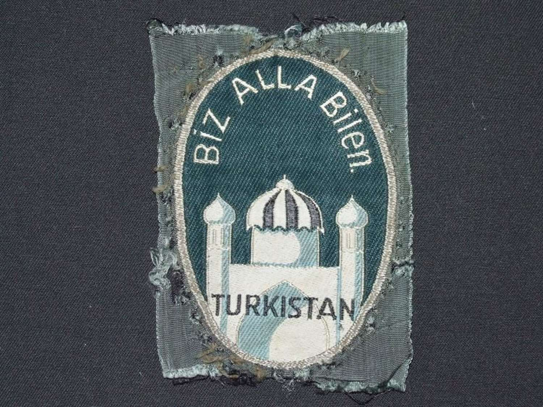 Rare 1st Pattern Sleeve Insignia for Turkistan volunteers