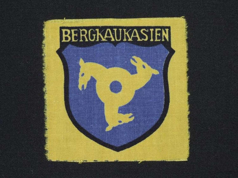 Sleeve Shield worn by volunteers in the Bergkaukasien Legion