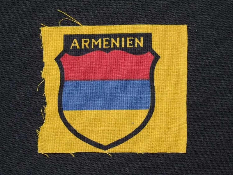 Sleeve Shield for volunteers in the Armenian Legion