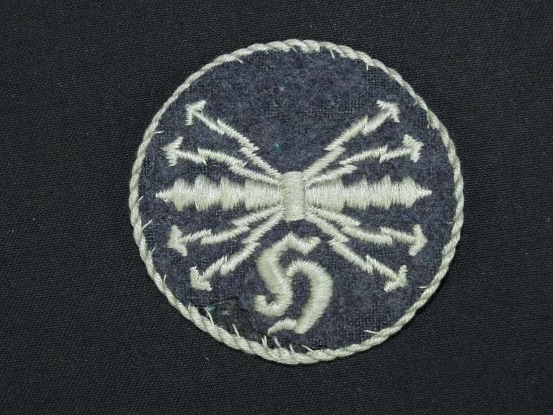 Luftwaffe Specialist Badge. Qualified Sound Locator Operator