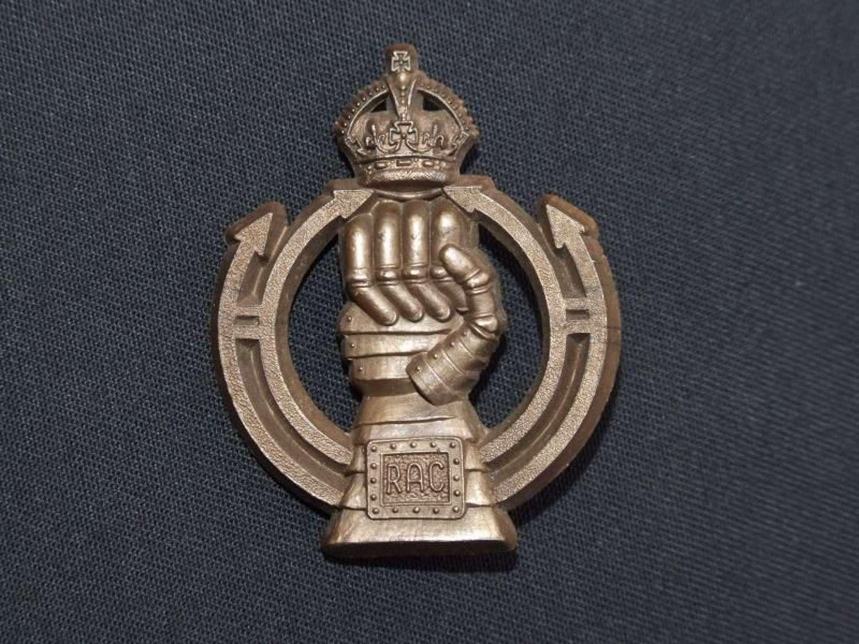 Royal Armoured Corps Plastic Economy Badge