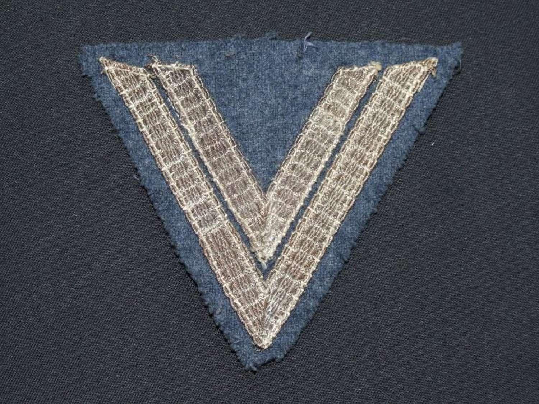 Luftwaffe Obergefreiter Greatcoat Insignia