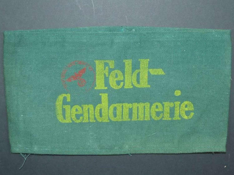 German Feldgendarmerie Armband