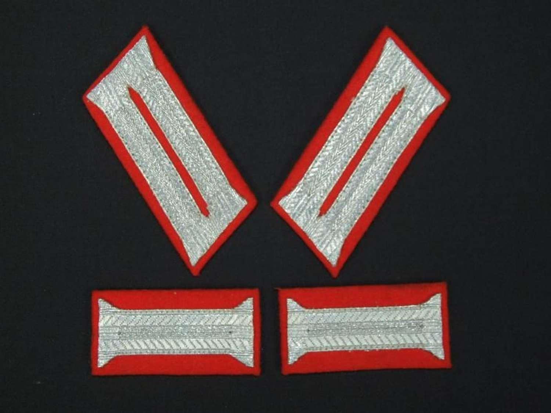 Set of Four Patches for the Feldgendarmerie Waffenrock