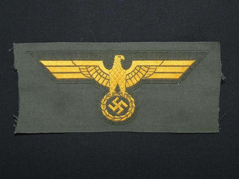 Kriegsmarine Breast Eagle. Coastal Artillery