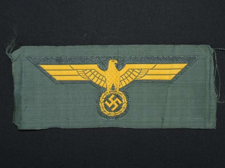 Kriegsmarine Breast Eagle - Coastal Artillery