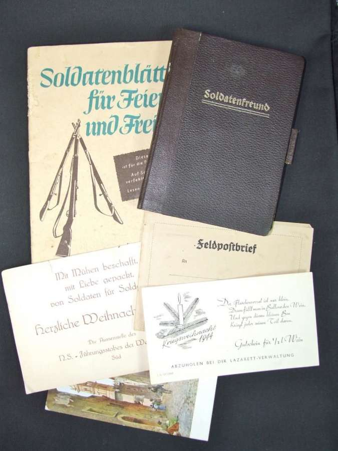 Soldatenfreund Folder with Paperwork Taken From POW