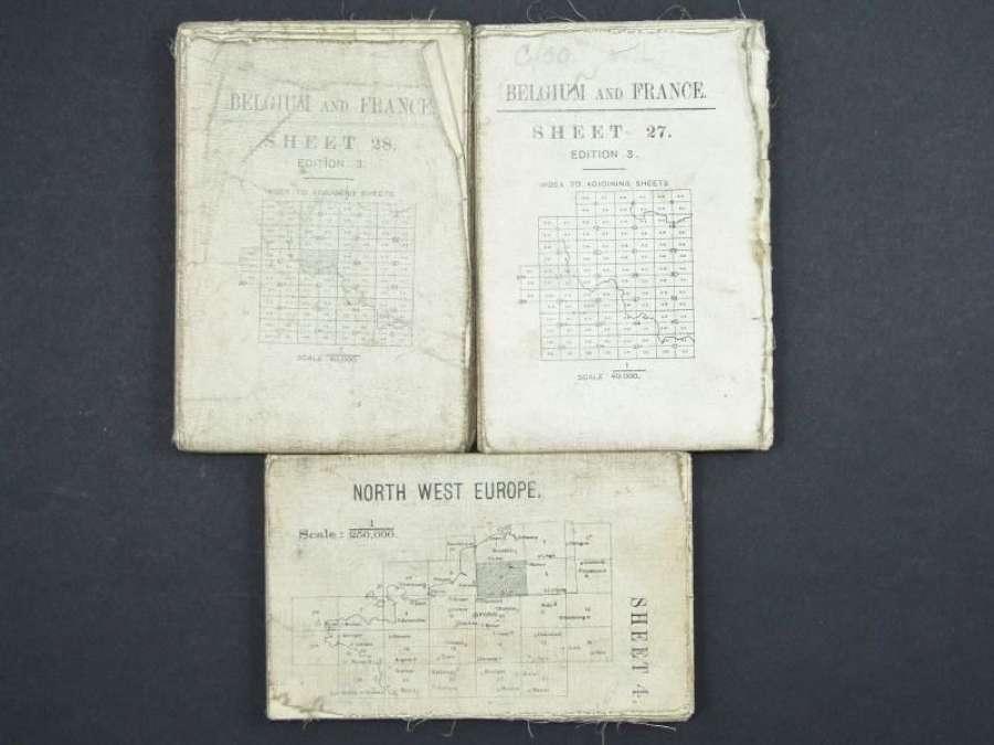Three WW1 British Military Maps