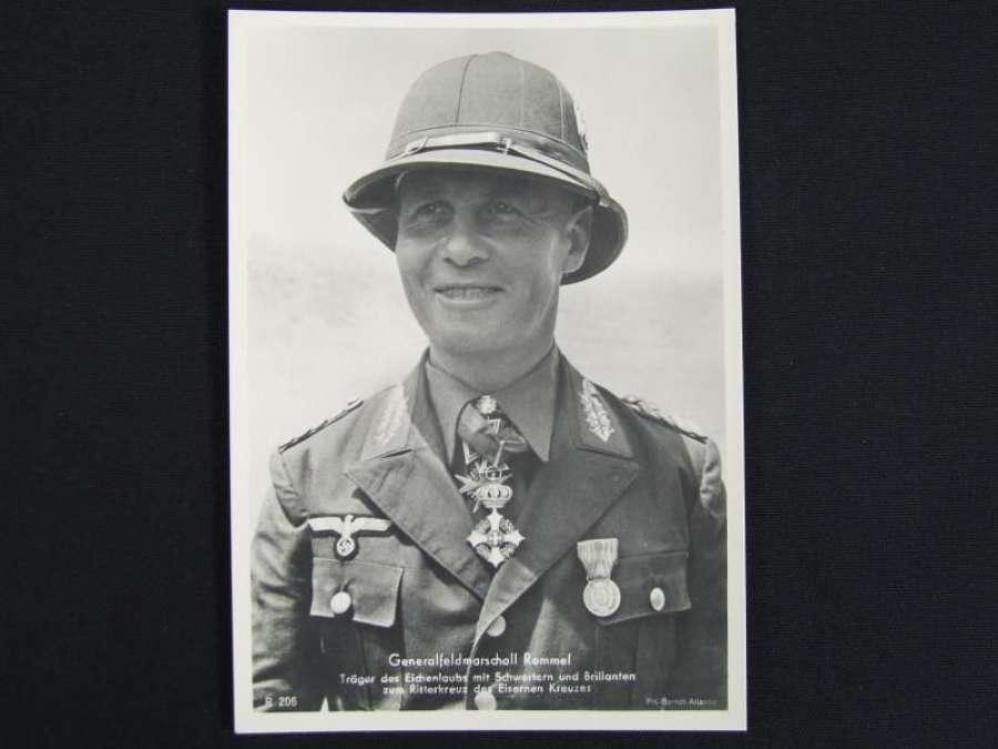 Picture Postcard - Generalfeldmarshall Erwin Rommel