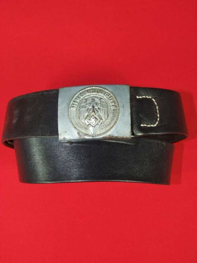 Hitler Youth Belt and Buckle by Julius Kremp