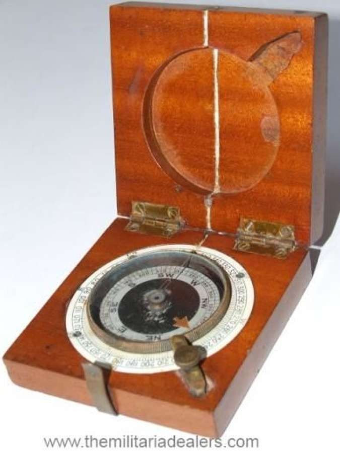 1918 Dated British Military Pocket Compass