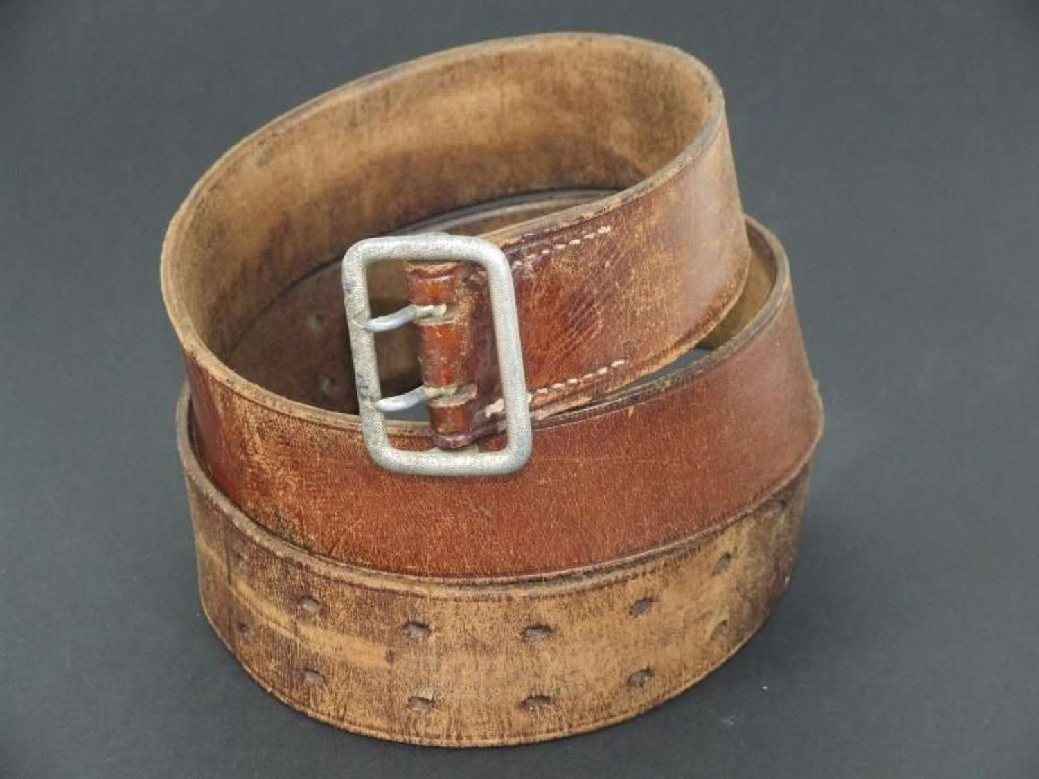Political Double Claw Belt RZM Marked