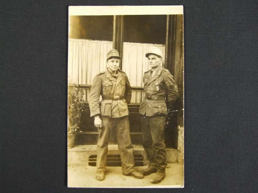 Picture Postcard of Two DAK Soldiers