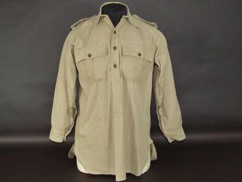 1941 Dated British Aertex Shirt.